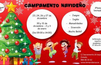 campamento navideño